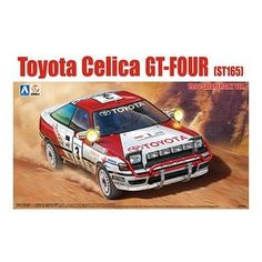 AOSHIMA BEEMAX B24004 KIT 1//24 TOYOTA CELICA TA64 WINNER RALLY SAFARI 1985