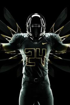 Oregon Ducks...Hubby has gotten me into all their sweet uniforms! :)