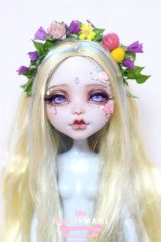 #OOAK #MonsterHigh #DollRepaint #HelloMariRepaint