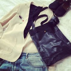 Outfit | Daughter of Jón Leather Shopper | Special Edition
