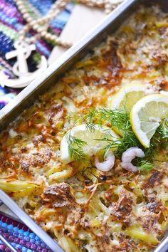 Miljoonannen kerran - kiusaukset ovat niin helppoa ja hyvää ruokaa, ettei varmaan ole toista! Kiusauksia voi tehdä vaikka mistä ra... I Love Food, Good Food, Yummy Food, Healthy Cooking, Vegetable Pizza, Lasagna, Salmon, Seafood, Food And Drink
