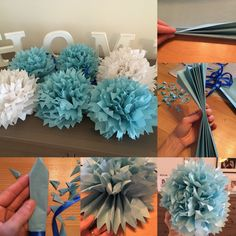 Diy decoration for a party. How to make a pompom?