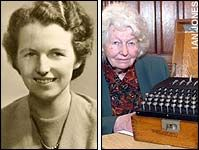 Mavis Batey (1921-2013). Garden historian and Bletchley Park code-breaker - http://www.telegraph.co.uk/news/obituaries/military-obituaries/special-forces-obituaries/10447712/Mavis-Batey-obituary.html