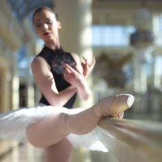 This ballerina will inspire you to try out barre classes  that ought tone your entire body so you can secretly pretend to be a ballerina.