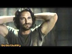Gerard Butler - Screen test = Hot Scot - YouTube: Gerry's audition for Tomb Raider...ROWR!