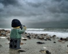 Photographing Lego with an iPhone.. pretty cool actually