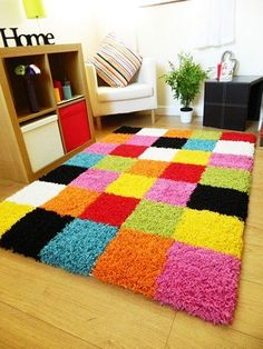 Diy Craft Journal Diy Carpet Rugs On Carpet Proddy Rugs Knit Rug Pom Pom Rug Weekend Crafts Latch Hook Rugs Loom Knitting Tapetes Diy, Homemade Rugs, Knit Rug, Pom Pom Rug, Crochet Carpet, Latch Hook Rugs, Pom Pom Crafts, Diy Carpet, Cheap Carpet