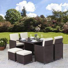 all seasons outdoor jt40s rattan garden furniture outdoor patio set with glass table summer sale all seasons outdoor httpwwwamazoncoukdp - Garden Furniture Deals
