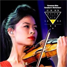 Vanessa-Mae, a Singapore born British violinist & alpine skier of Thai & Chinese descent, is born 27Oct78. A crossover violinist, her album sales made her the wealthiest young entertainer in the UK in 2006. A Root No. 8, she is a lucky person, successful with many friends to back her up. She tends to be emotional & busy, stressful under pressure, apathetic to marriage although she dates. Do you know your success criteria? Go to numerology.anselm... & find out. #vanessa #violinist