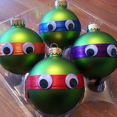 Teenage Mutant Ninja Turtle Ornaments