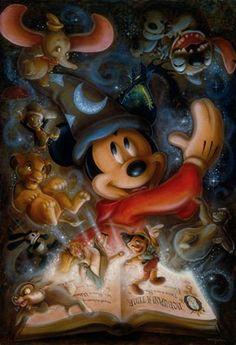 Darren Wilson Debuting Exclusive Disney Cruise Line Artwork Aboard the Disney Fantasy August 2013 Disney Pixar, Disney Animation, Disney Magic, Disney And Dreamworks, Disney Cartoons, Disney Icons, All Disney Characters, Disney Villains, Disney Cruise