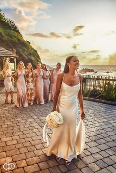 ***Real Bride*** Oh wow we are in love with this image from our gorgeous bride Serena who married at a beautiful Devon coastal spot. Congratulations Serena you look amazing! xxx ⠀⠀⠀⠀⠀⠀⠀⠀⠀ Dress at Photographer Hair Make up Slip Wedding Dress, Dream Wedding Dresses, Beautiful Bride, Beautiful Images, The Dress, Wedding Inspiration, Wedding Ideas, Devon, Bride Groom