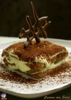 Trendy Ideas For Cheese Cake Ricetta Classica Italian Desserts, Just Desserts, Italian Recipes, Delicious Desserts, Mousse, Sweets Recipes, Wine Recipes, Tiramisu, Pudding