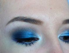Same color eye shadow but more of a realistic approach of what it would look like - Maybelline Color Tattoo