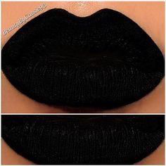 Black Matte Liquid Lipstick by TwistedVixenCosmetic on Etsy