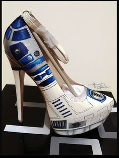 From Polyvore... R2 D2 Heels