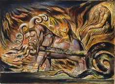 William Blake,  Jersualem: The Emanation of the Giant Albion, 1804-20