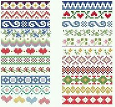 Thrilling Designing Your Own Cross Stitch Embroidery Patterns Ideas. Exhilarating Designing Your Own Cross Stitch Embroidery Patterns Ideas. Cross Stitch Boarders, Cross Stitch Flowers, Cross Stitch Designs, Cross Stitching, Cross Stitch Embroidery, Cross Stitch Patterns, Fair Isle Knitting Patterns, Bead Loom Patterns, Knitting Charts