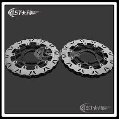 Motorcycle Front Floating Brake Disc Rotor For CBR1000RR 06-07 VTR1000R SP1 2000 2001 SP2 RC51 00-07 Motocross Dirt Bike #Affiliate