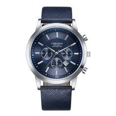 Quartz Watches Glorious Reloj Hombre Fashion Men Watch Alloy Synthetic Leather Analog Quartz Sports Watch Watches Man Top Luxury Brand Masculino Reloj