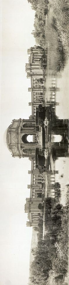 The Palace of Fine Arts - Panama–Pacific International Exposition - San Francisco 1915 - Design by Bernard Maybeck