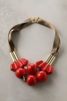 Anthropologie Collier Madame Necklace