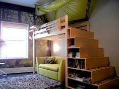 diy adult loft bed - Google Search