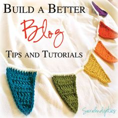 Sarahndipities ~ fortunate handmade finds: Great Idea: Build a Better Blog #3 - Get Noticed!!!