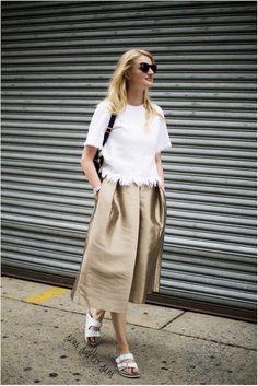 Pantacourt, pantalona cropped ou culotte, veja nesse post 10 look e 10 dicas para acabar de vez com o preconceito.
