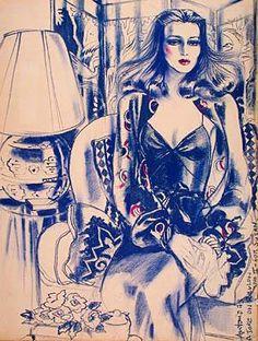 Antonio Lopez Fashion Illustrator Gallery   Antonio Lopez: Fashion Illustrator