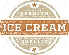 Image result for vintage ice cream logo