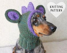 Lucky Fox Knits by LuckyFoxKnits on Etsy Knitting Projects, Knitting Patterns, Crochet Patterns, Crochet Ideas, Crochet Dog Hat Free Pattern, Loom Knitting, Baby Knitting, Nepal, Dog Snood