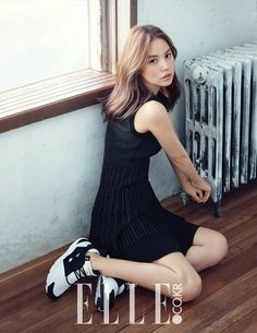 Min Hyo Rin Poses for Elle Korea | Koogle TV