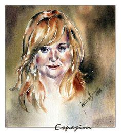 Espejim Collage, Portrait, Daenerys Targaryen, Game Of Thrones Characters, Fictional Characters, Art, Watercolor, Figurine, Art Background