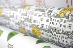 Little Houses Wrapping Paper-Baile-Irish Word for Home- 140gsm Quality Gift Wrap - Made in Ireland. 3,17€ at Etsy