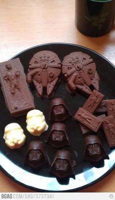 Nice!  Star Wars Chocolates.