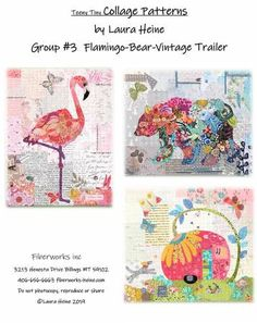 Flamingo Fever by AdornIt Fabrics Carolee/'s Creations- 6 items in listing Crafts Quilt Tropical Clothing
