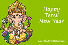 Sandiv Art Gallery Wishes You All A Happy Tamil New Year! #tamil #newyear
