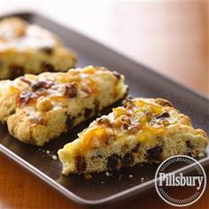 Make something delicious for brunch this weekend! Try our recipe for Bacon-Date Scones with Orange Marmalade Glaze from Pillsbury™ Baking.