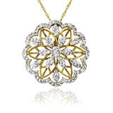 1ct Swarovski Medallion Pendant $29 via @Brad's Deals