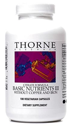 The Product Citrate Formula, Basic Nutrients III Without Copper and Iron, 180 Veggie Caps  Can Be Found At - http://vitamins-minerals-supplements.co.uk/product/citrate-formula-basic-nutrients-iii-without-copper-and-iron-180-veggie-caps/