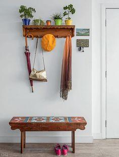 Para organizar o hall de entrada - Reciclar e Decorar - Blog de Decoração, Reciclagem e Artesanato