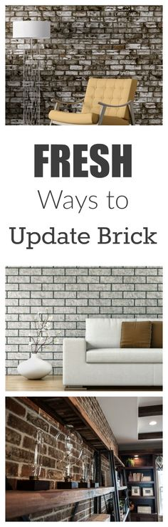 If you have brick around a fireplace or one of your walls is brick and you are looking for a way to update the look. Here are a few different …