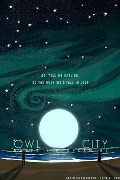 573 Best OWL CITY :) images in 2019 | Adam young, Owl city lyrics