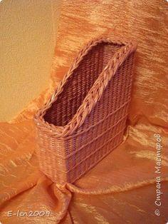 Поделка изделие Плетение КУЧА МАЛА   Бумага газетная Трубочки бумажные фото 4