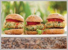 Receita Saudável: Hambúrguer de Quinoa! Confira no Blog da Natue!