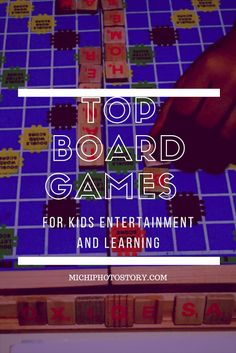 Michi Photostory: Top Board Games for Kids Entertainment and Learning