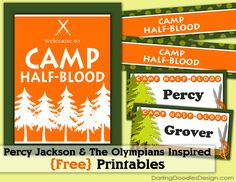 Percy Jackson Themed Party/Library Program