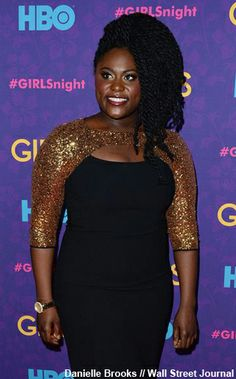 NewYorkDress Blog // Orange is the #NUE Black // Click through for more Danielle Brooks in NUE by Shani!