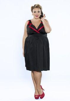 Sealed With A Kiss Designs Plus Size Lizzie Collar Dress Sealed with a Kiss Designs Plus Size, http://www.amazon.com/dp/B00B53A3JE/ref=cm_sw_r_pi_dp_3ioirb0CEZCC9